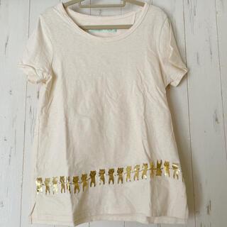 franche lippee - フランシュリッペ はにわくまTシャツ