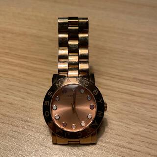 マークバイマークジェイコブス(MARC BY MARC JACOBS)のマークバイマークジェイコブス腕時計 ピンクゴールド(腕時計)