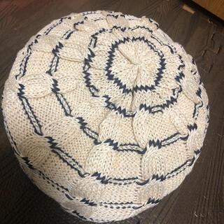 オーバーライド(override)の試着のみ override polygiene ベレー帽(ハンチング/ベレー帽)