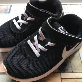 NIKE - NIKE  キッズ スニーカー 18.5㎝ 黒 運動靴