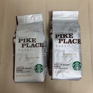 スターバックスコーヒー(Starbucks Coffee)のスターバックスコーヒー スタバ コーヒー豆 2点セット(コーヒー)
