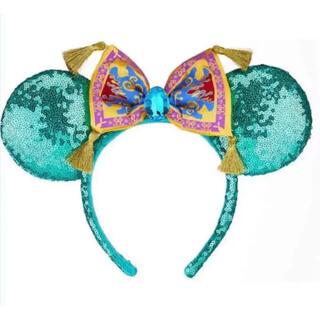 ディズニー(Disney)の海外ディズニー限定❣️アラジン ジャスミンモチーフ 魔法の絨毯 カチューシャ(カチューシャ)