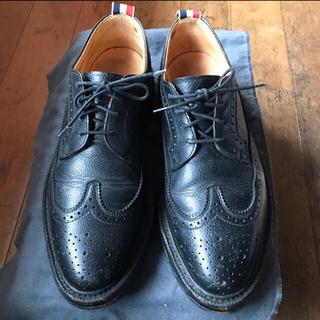 THOM BROWNE - 期間限定値下げ THOM BROWNE トムブラウン ウィングチップ 革靴