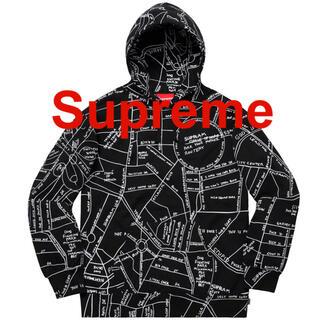 シュプリーム(Supreme)のGonz Embroidered Map Hooded Sweatshirt(パーカー)