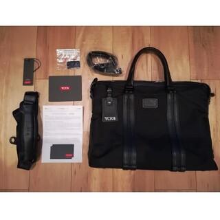 トゥミ(TUMI)のTUMI 068415DE スリムブリーフ ハンドル新品 黒 JARVIS 日本(ビジネスバッグ)