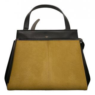 セリーヌ(celine)の極美品 Celine セリーヌ エッジ edge バッグ ブラック 保護袋タグ付(ハンドバッグ)