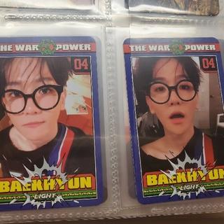 エクソ(EXO)のEXO ベク トレカ セット power(K-POP/アジア)