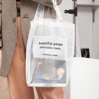 beautiful people - beautiful people シースルートートバッグ