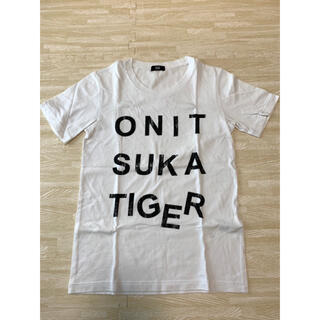 オニツカタイガー(Onitsuka Tiger)のonitsuka tiger Tシャツ 白(Tシャツ/カットソー(半袖/袖なし))