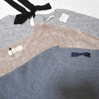 ピッチン(PICCIN)の<M・Fサイズ>まとめ売り⑤ ニット セーター ガーリー(ニット/セーター)