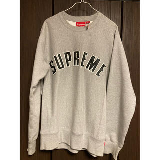 Supreme - 15FW Supreme Arc Logo Crewneck sweat M