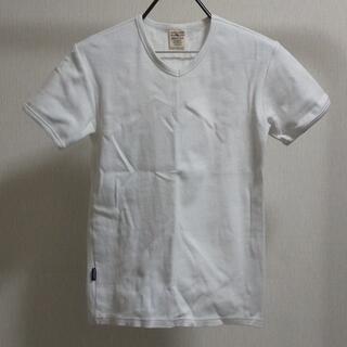 AVIREX - AVIREX Tシャツ Vネック 無地 白 デイリー 6143501