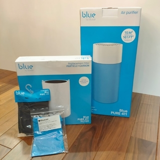 新品未使用 ブルーエア Blue Pure 411 空気清浄機 フィルターセット