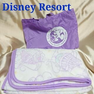 ディズニー(Disney)のディズニーリゾート バケーションパッケージ ブランケット ひざ掛け バッグ付き(キャラクターグッズ)
