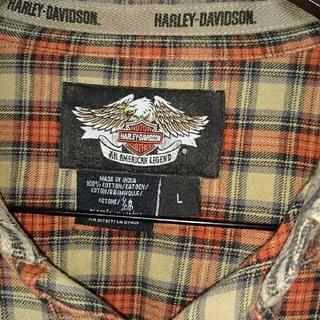 ハーレーダビッドソン(Harley Davidson)のハーレーダビットソン(シャツ)