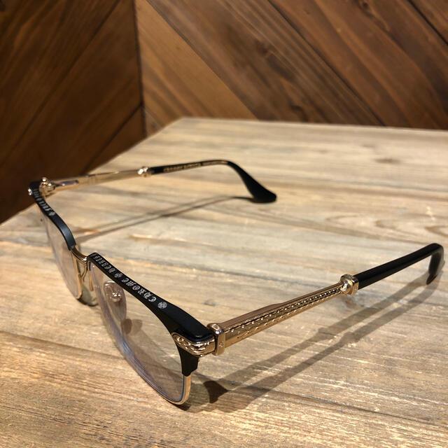 Chrome Hearts(クロムハーツ)の値下げ▼送料込み★美品★クロムハーツメガネ TITRIS メンズのファッション小物(サングラス/メガネ)の商品写真