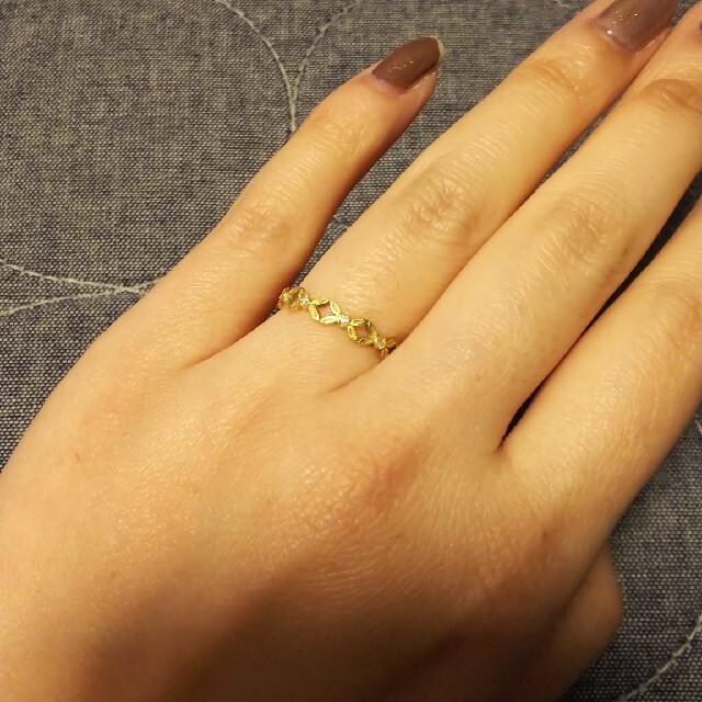 AHKAH(アーカー)のアーカー リング サイズ10 レディースのアクセサリー(リング(指輪))の商品写真