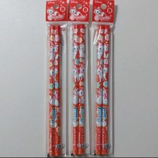 ミツビシエンピツ(三菱鉛筆)の三菱鉛筆 ディズニー マリー 赤鉛筆 6本(鉛筆)