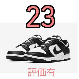 NIKE - ナイキ ウィメンズ ダンク ロー ホワイト/ブラック 23
