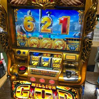 実機 税込 ミリオンゴッド-神々の凱旋◆コイン不要機付◆オプション多数有り