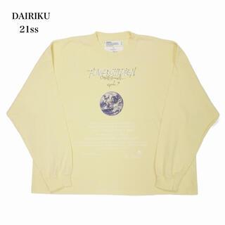 "SUNSEA - DAIRIKU ダイリク 21ss ""Earth"" Thrift L-S Tee"