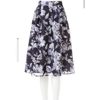 フリーズマート(FREE'S MART)のフリーズマート 大花柄スカート(ひざ丈スカート)