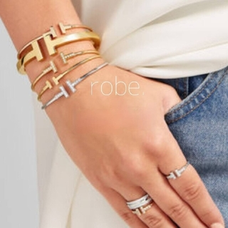399.T wire cz bracelet【silver】