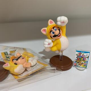 スーパーマリオ マリオ チョコエッグ ネコマリオ(キャラクターグッズ)