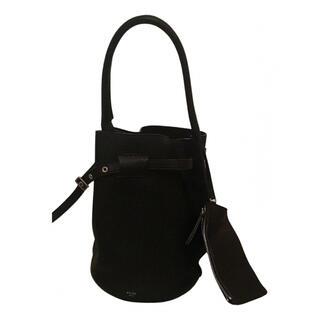 セリーヌ(celine)の極美品 Celine セリーヌ ソウ サングル ブラック 保護袋付 ハンドバッグ(ハンドバッグ)