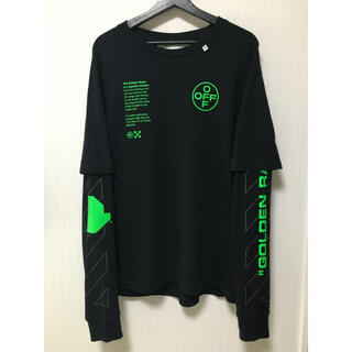OFF-WHITE - Off-White Arch Shapes double sleeve Tシャツ