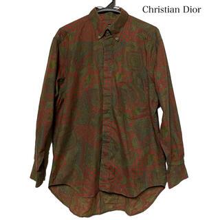Christian Dior - Dior クリスチャンディオール  長袖シャツ 長袖 ペイズリー柄 柄シャツ