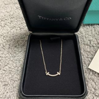 Tiffany & Co. - ⬛️ ティファニー T スマイル(ミニ) ペンダント ホワイトゴールド