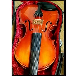 高級 バイオリン 鈴木 No.280 4/4 新品弓、肩当、松脂 定価7万(ヴァイオリン)