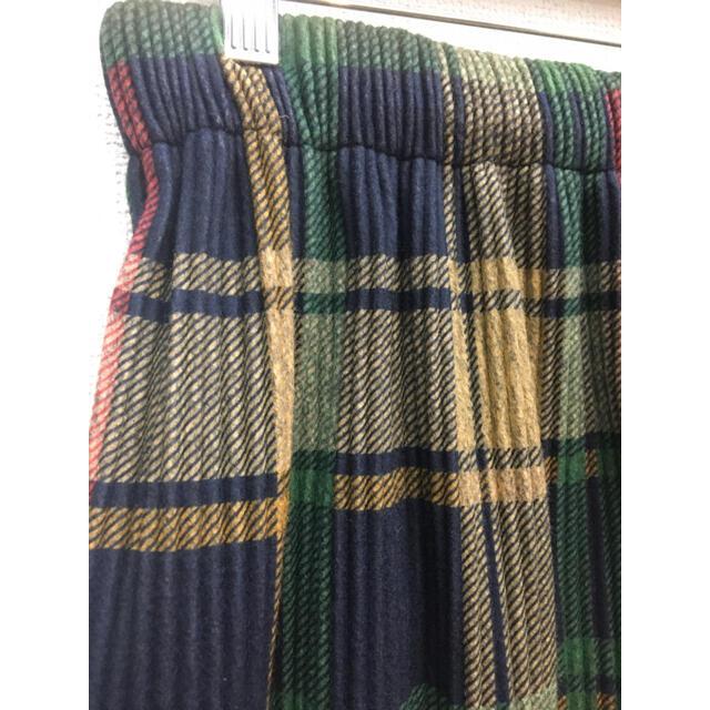 merlot(メルロー)のフィリル  チェック プリーツスカート レディースのスカート(ロングスカート)の商品写真