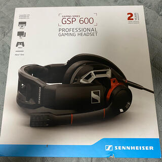 ゼンハイザー(SENNHEISER)のSENNHEISER GSP 600(ヘッドフォン/イヤフォン)