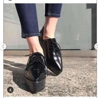 ムルーア(MURUA)のMURUA 厚底ローファー(ローファー/革靴)