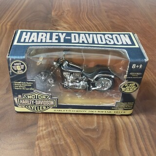 ハーレーダビッドソン(Harley Davidson)のハーレーダビッドソン レプリカ 1:18 2003 SOFTAIL DEUCE(その他)