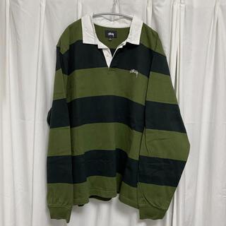 STUSSY - stussy classic stripe L/SL rugby