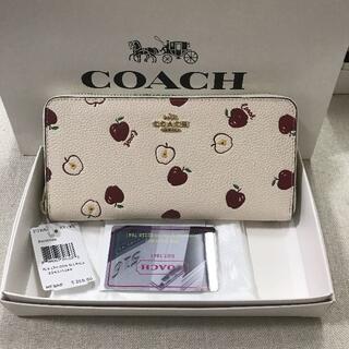 COACH - 新品 COACH コーチ ラウンドジップ長財布