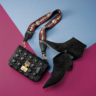 Dior - 美品 Dior 2017 12万 スウェードレザー ブーティー ショートブーツ
