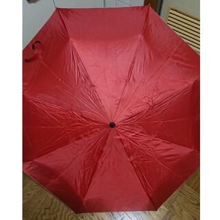 《最終価格》UVカット折り畳み傘★赤(傘)