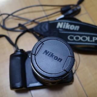 ニコン(Nikon)のNikonデジタルカメラCOOLPIX(クールピクス)B600ブラック(コンパクトデジタルカメラ)