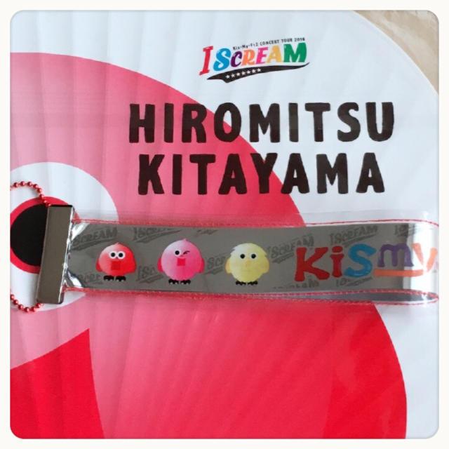 赤  I SCREAM銀テープキーホルダ ハンドメイドのファッション小物(その他)の商品写真