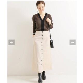 IENA - イエナ 前ボタン コールスカート