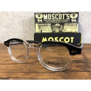 MOSCOT LEMTOSH/モスコット 46 BLACK/CRYSTA