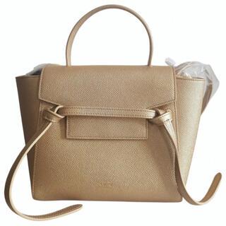 セリーヌ(celine)の新品 Celine セリーヌ ベルトバッグ ゴールド 保護袋カードタグ付き(ハンドバッグ)
