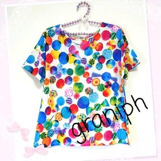 グラニフ(Design Tshirts Store graniph)のgraniph グラニフ ♡ Tシャツ(Tシャツ(半袖/袖なし))