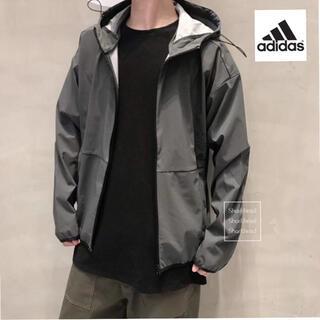 アディダス(adidas)のL  新品 アディダス パッカブル 2レイヤージャケット スポーツウェア (ナイロンジャケット)