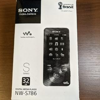 ソニー(SONY)のSONYウォークマン NW-S786 32GB 白(ポータブルプレーヤー)