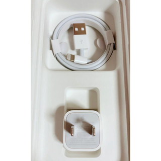 アップル(Apple)のアップル純正 充電器セット(バッテリー/充電器)